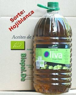 EAN: 8437004684059                    Bio Olivenöl  5 Liter  <br>Sorte = Hojiblanca von Biopal<sup>®</sup>