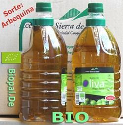 EAN: 4260585510141                    BIO Premium Olivenöl (Arbequina) 2 Liter Flasche, mit Henkel  Sorte = Arbequina von Biopal<sup>®</sup>