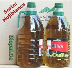 EAN: 4260585510158                    Olivenöl (Hojiblanca) 2 Liter Flasche, mit Henkel Sorte = Hojiblanca