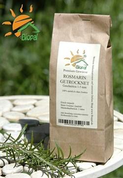 EAN: 4260585510189                    250g Rosmarin <br>Geschnitten 2-5 mm  von Biopal<sup>®</sup>