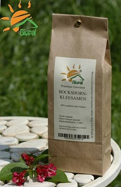 EAN: 4260585510233                    1 Kg Bockshornkleesaat ganz von Biopal<sup>®</sup>